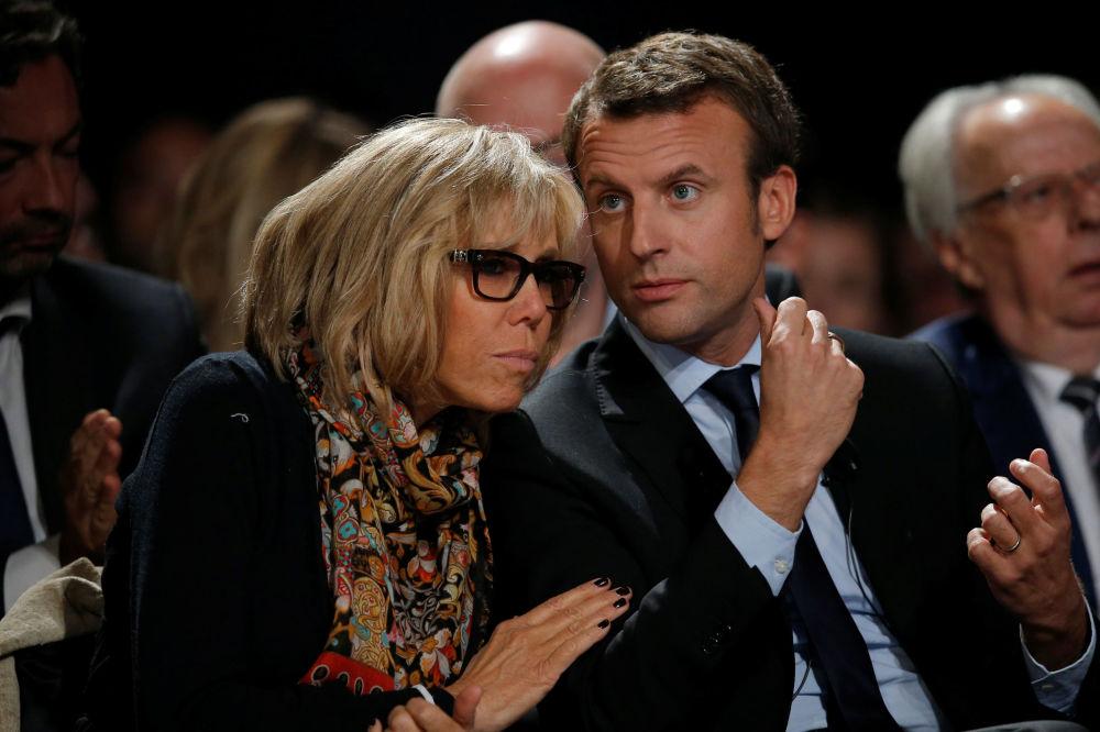 Nová první dáma Francie Brigitte Macronová
