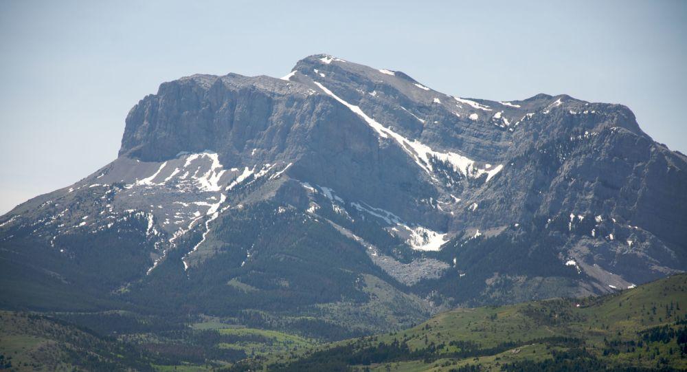 Hory v americké Montaně