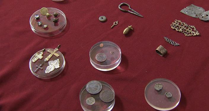V Moskvě ukázali poklad z dob Ivana Hrozného