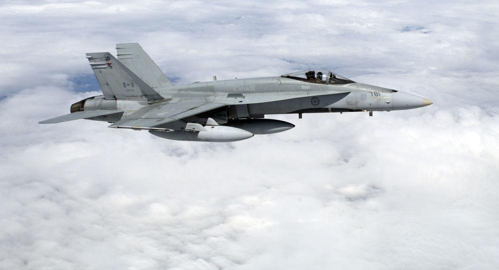 Kanadský bombardér CF-18