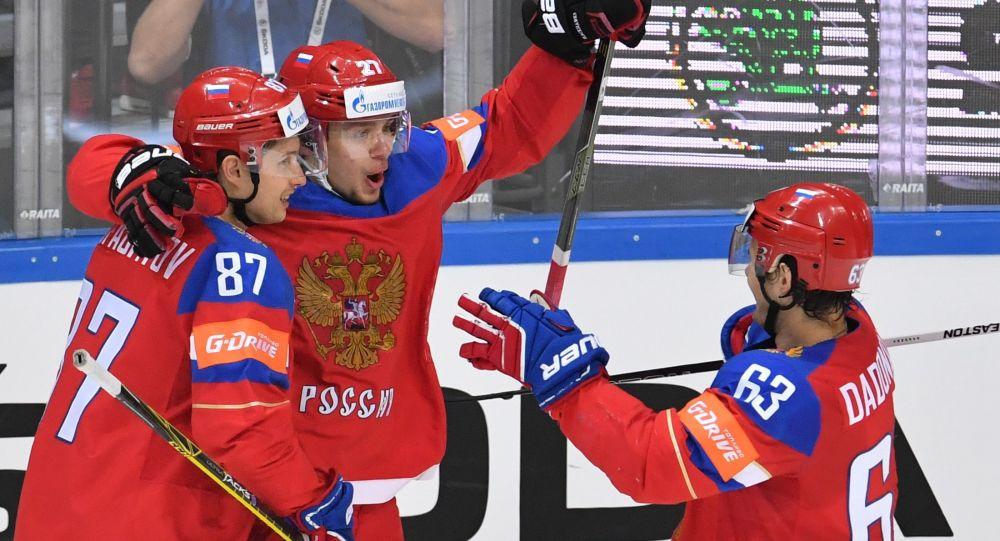 Ruští hokejisté