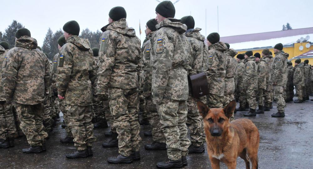 Vojáci Ozbrojených sil Ukrajiny