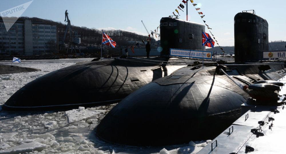 Ruská ponorka projektu 877 Paltus