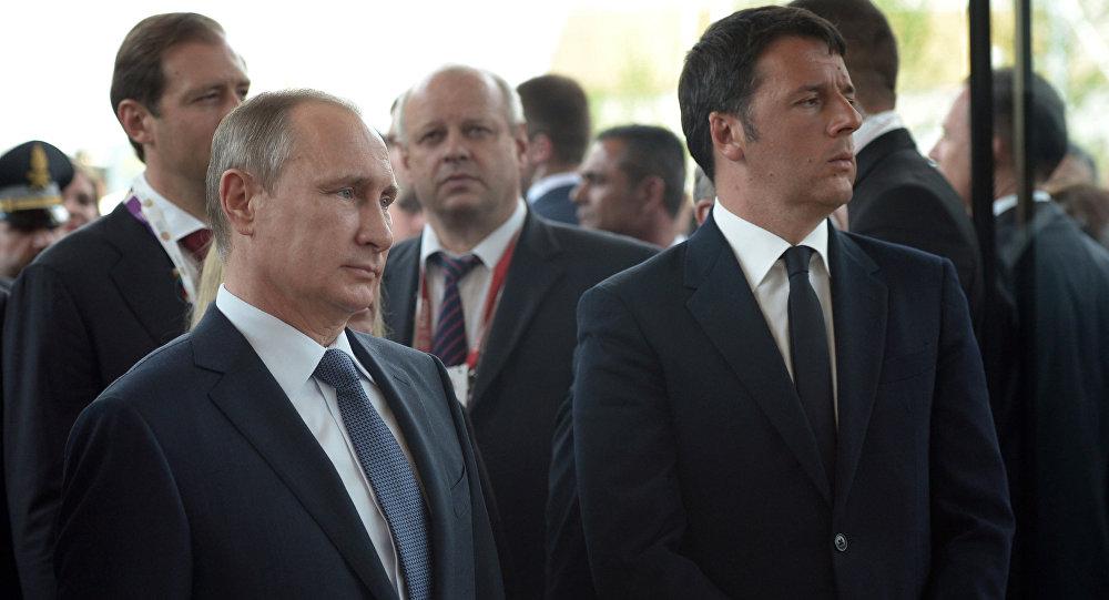 Návštěva Vladimira Putina v Itálii