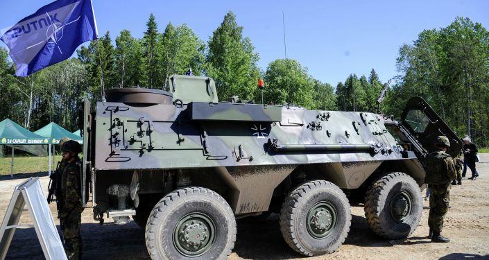 Američtí vojáci během cvičení Saber Strike v Estonsku (ilustrační foto)