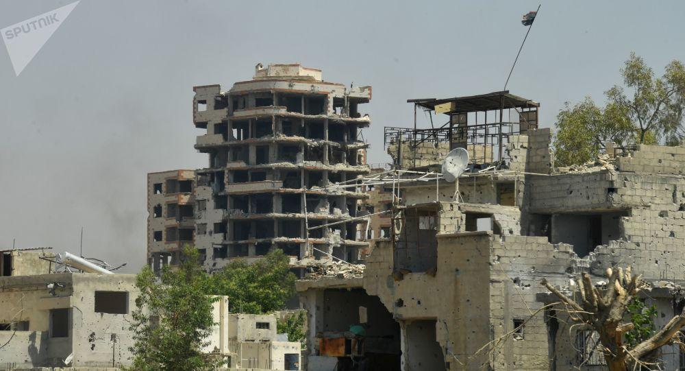 V předměstí Damaška