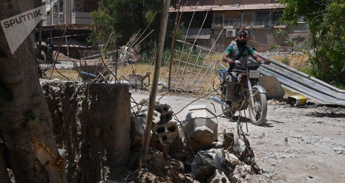 Damašek, Sýrie