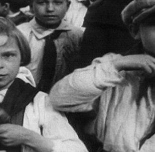 Archivní záběry: pionýrské hnutí v SSSR