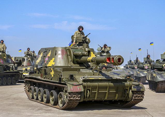 Ukrajinský tank T-80