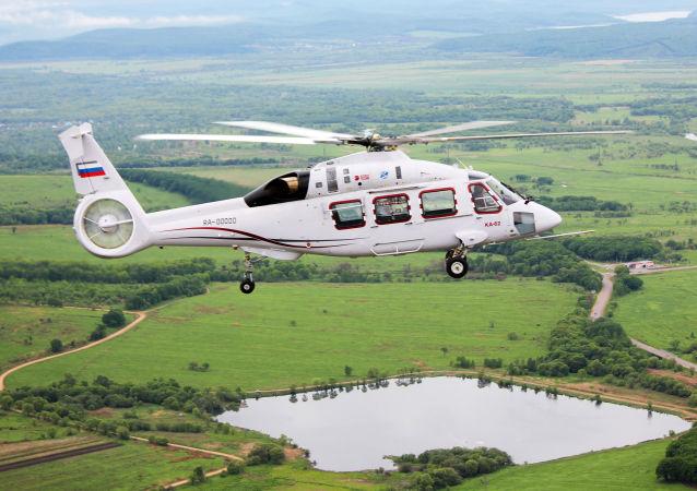 Nový ruský vrtulník Ka-62