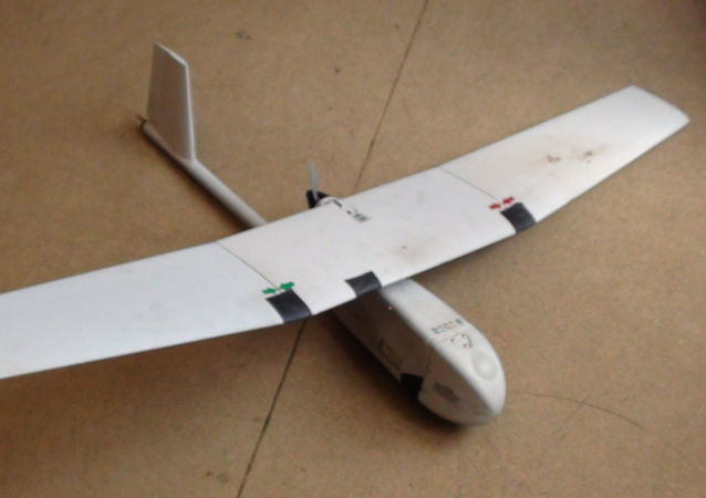 Ukrajinský dron, který zachytili v LLR