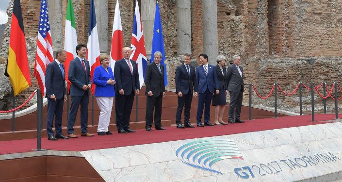 """Lídři """"Velké sedmičky"""" v Taormině"""