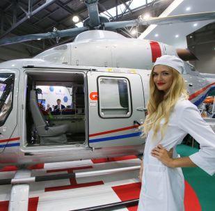 HeliRussia 2017: elektromobil, kvadrokoptéra a nový Ansat