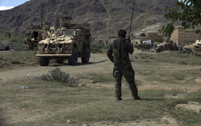 Američtí vojáci v Afghánistánu