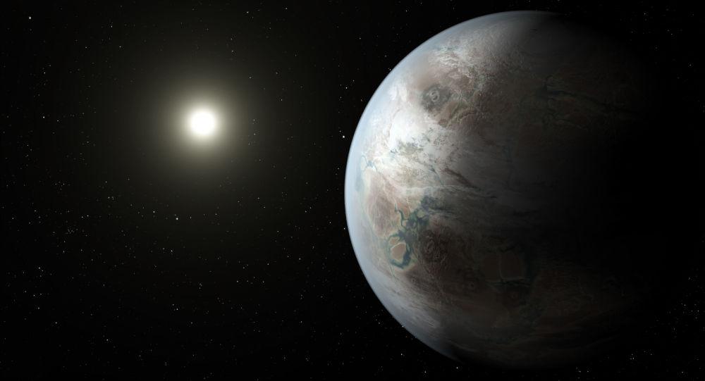 Exoplaneta. Ilustrace