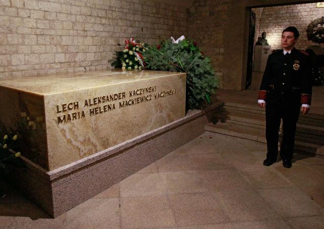 Rakev prezidenta Polska Lecha Kaczyńského