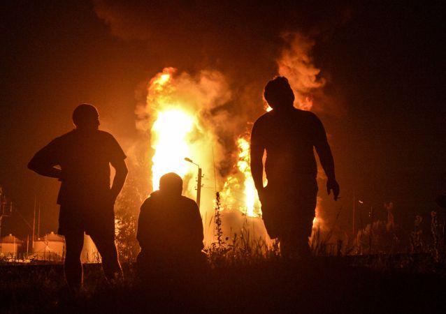Požár. Archivní foto