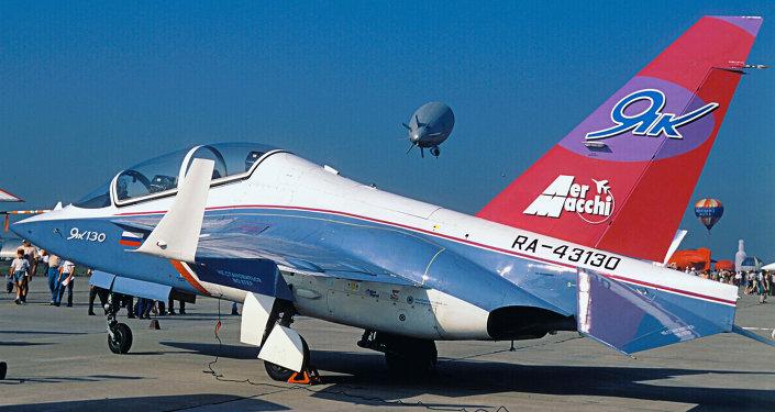 Jak-130, letecká výstava MAKS