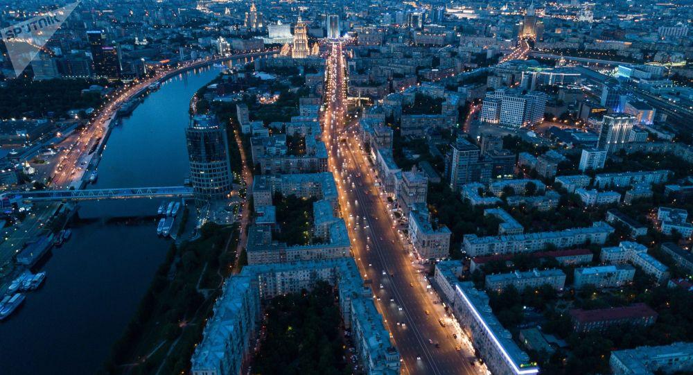 Kutuzovský prospekt v Moskvě