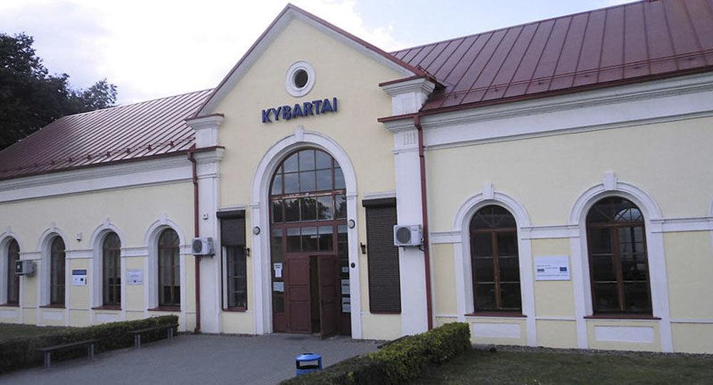 Stanice Kybartai v Litvě