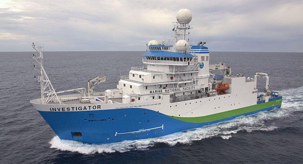 Australská průzkumná loď RW Investigator