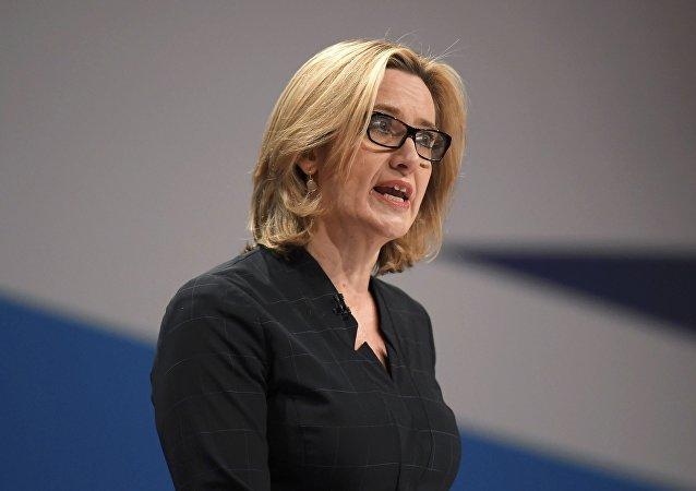 Ministryně zahraničí Velké Británie Amber Ruddová