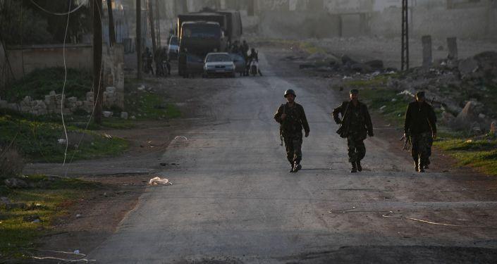 V okolí syrského města Hamá