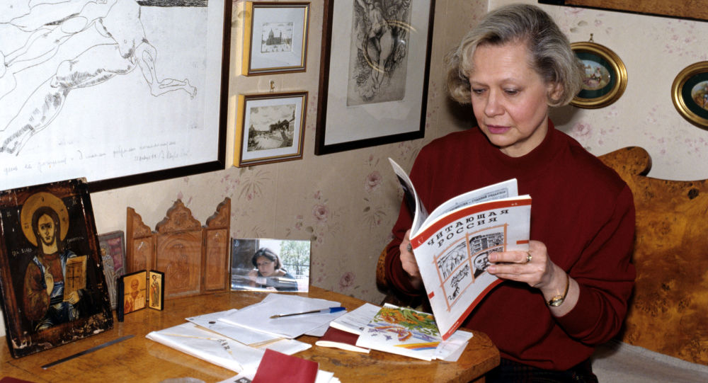 Vnučka a nevlastní dcera Nikity Chruščova Julie