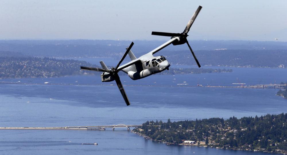 Americký konvertoplán MV-22 Osprey