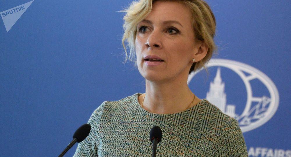 Mluvčí MZV RF Marija Zacharovová