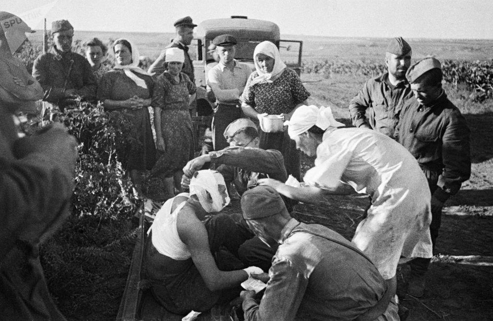 První dny Velké Vlastenecké války