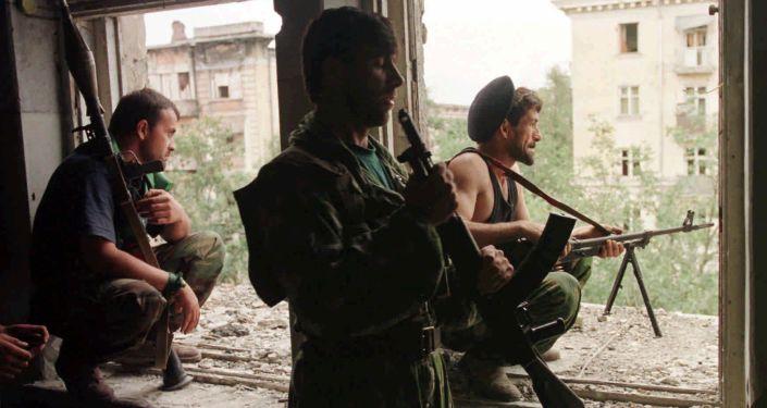Čečenští bojovnici