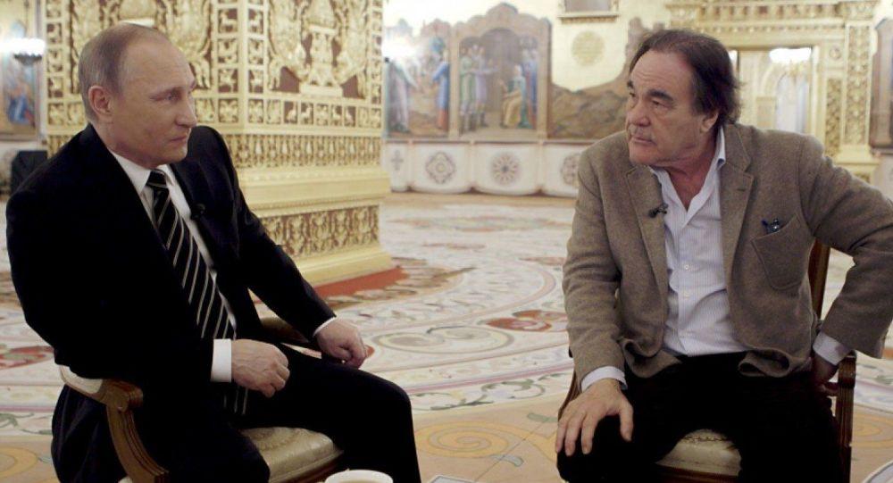 Vladimir Putin a Oliver Stone