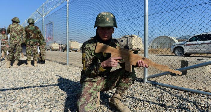 Základna Camp Shaheen v Afghánistánu