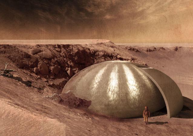 Projekt domu na Marsu