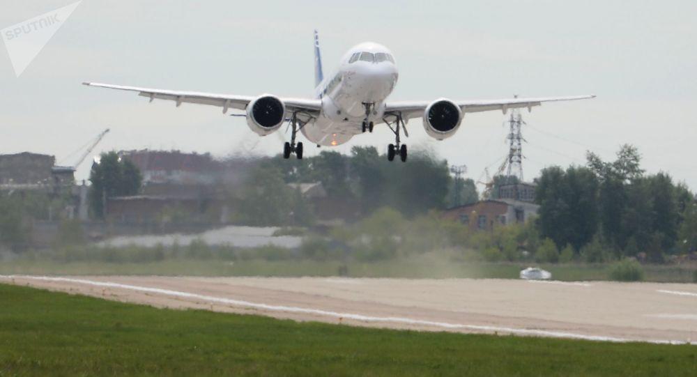 První let ruského dopravního letadla MS-21