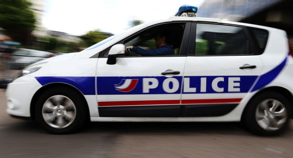 Francouzský policejní vůz