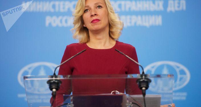 Oficiální mluvčí MZV Maria Zacharovová