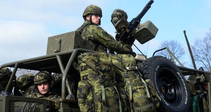 Čeští vojáci. Ilustrační foto