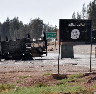 Vlajka IS v Sýrii