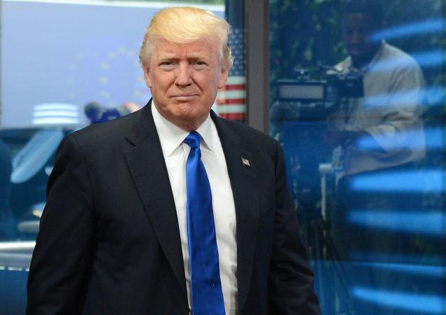 Prezident USA Donald Trump. Ilustrační foto