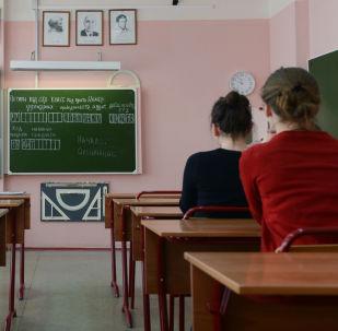 Školáci skládají zkoušku. Ilustrační foto