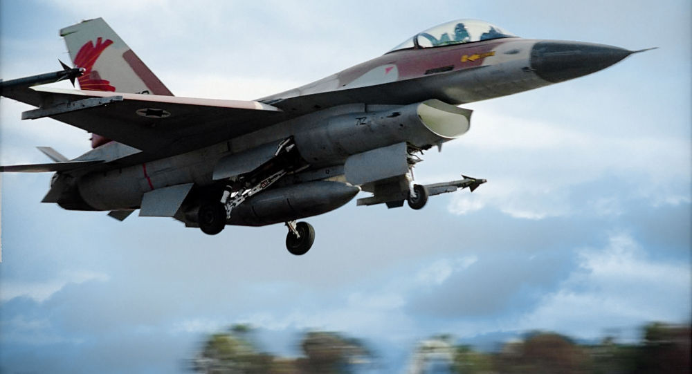 Stíhací letoun izraelského letectva