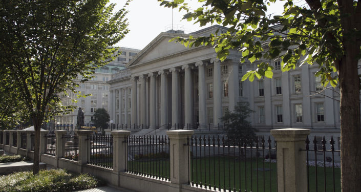 Ministerstvo financí USA ve Washingtonu