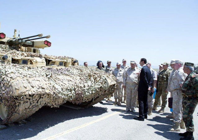 Syrský prezident Bašar Asad navštivil leteckou základnu