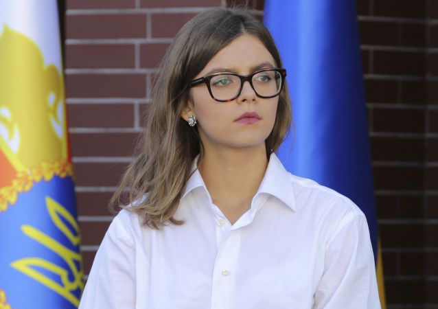Náměstkyně ministerstva vnitra Ukrajiny Anastasija Dějevová