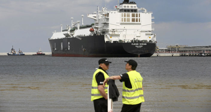 Dovoz amerického LNG do Polska