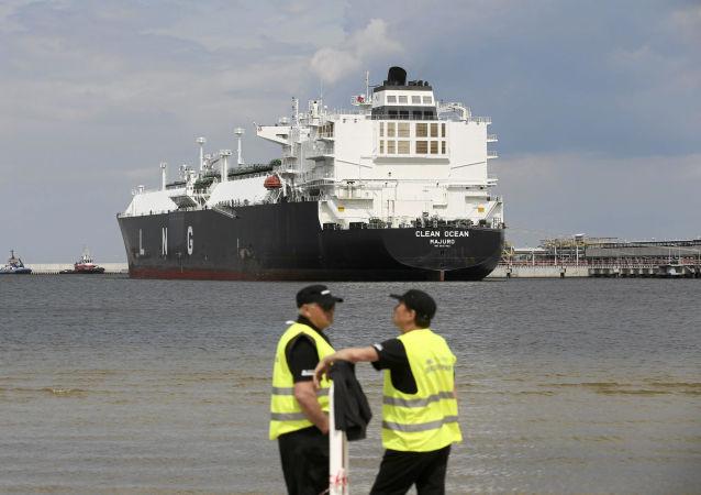 Export zkapalněného plynu