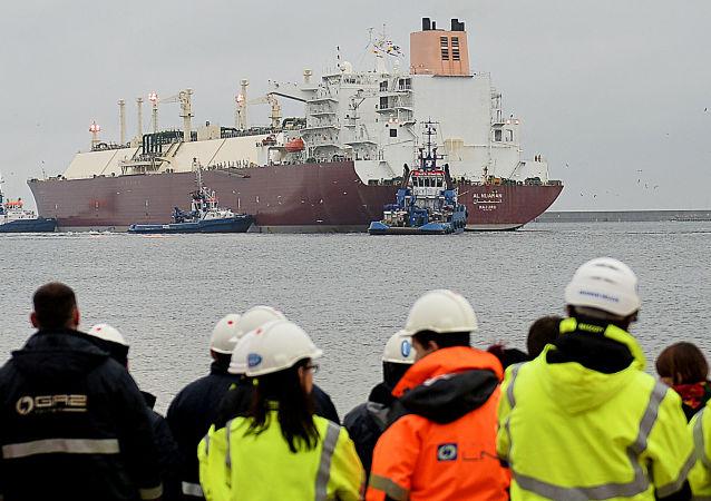 Tanker s zkapalněným plynem