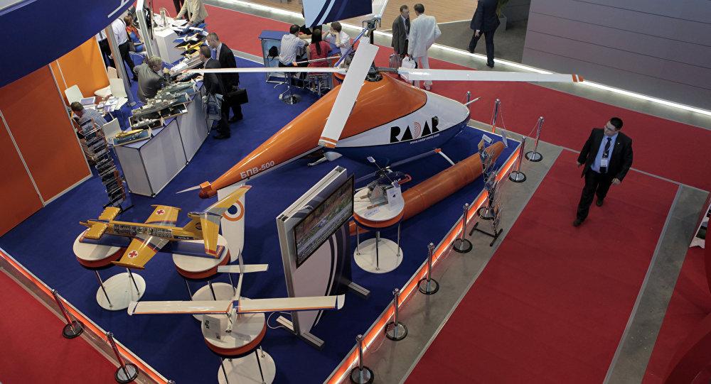 Víceúčelový bezpilotní vrtulník BPV-500